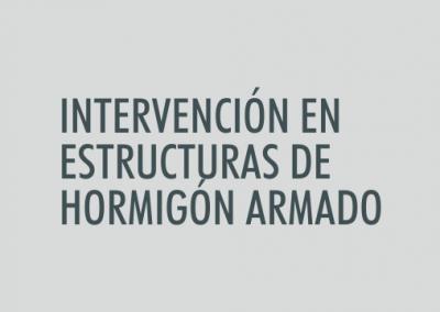 ASIGNATURA Intervención en estructuras de hormigón armado