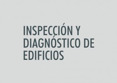 ASIGNATURA Inspección y diagnóstico de edificios