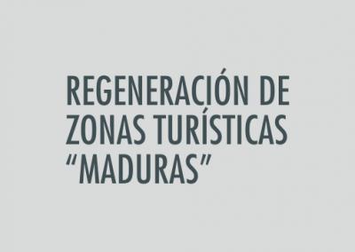 ASIGNATURA Regeneración de zonas turísticas «maduras»
