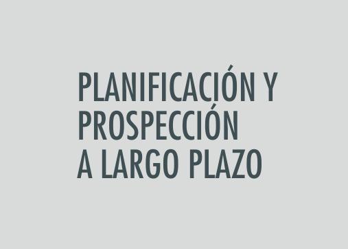ASIGNATURA Técnicas de planificación y prospección a largo plazo