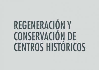 ASIGNATURA Regeneración y conservación de centros históricos