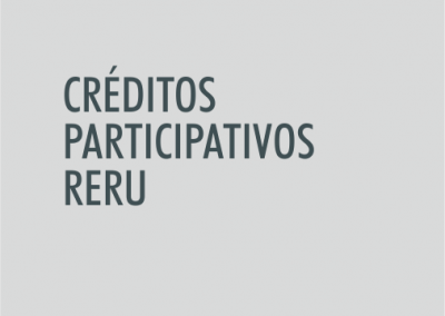 ASIGNATURA Créditos participativos RERU